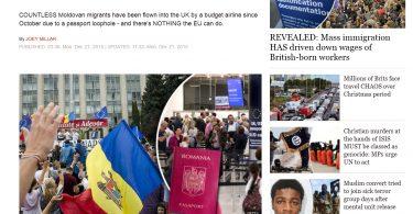 Cetu0103u021beni moldoveni u00een viziunea Daily Express