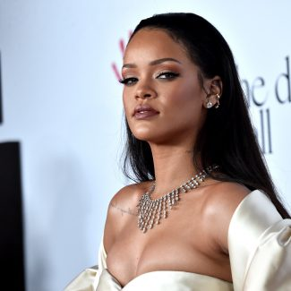 SANTA MONICA, CA - DECEMBER 10:  Recording artist Rihanna attends the 2nd Annual Diamond Ball hosted by Rihanna and The Clara Lionel Foundation at The Barker Hanger on December 10, 2015 in Santa Monica, California.  (Photo by Alberto E. Rodriguez/Getty Images)