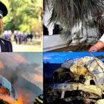 Doi poliţişti au ars
