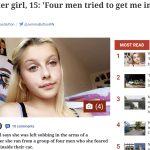 """O adolescentă de 15 ani spune că patru bărbați au vrut să o răpească: """"Erau români sau turci mari și bronzați"""""""