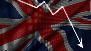 Economia britanică se prăbușește? PIB-ul țării a înregistrat o scădere record