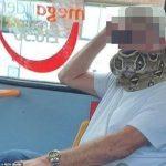 Oamenii credeau că poartă o mască