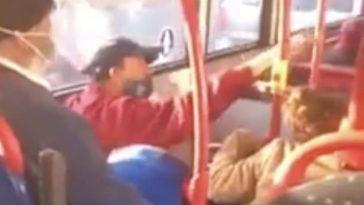 """Birmingham. Fată de 16 ani, lovită în autobuz din cauză că nu purta mască: """"Te omor!"""""""