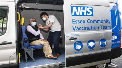 britanici imunizați cu AstraZeneca