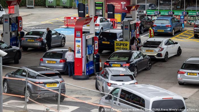 Criza combustibilului în Londra