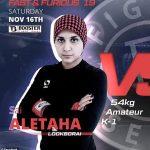 luptătoarea cu hijab