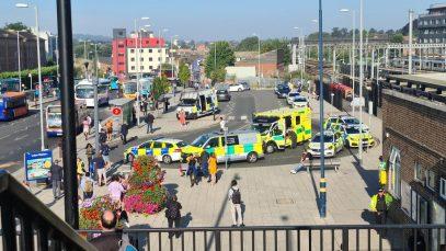BREAKING NEWS! Persoană lovită de tren în Luton. Se pare că este vorba despre un român