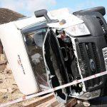 Case devastate și mașini distruse în Anglia. Un fenomen rar i-a îngrozit pe localnici