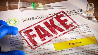 Român arestat pentru falsificarea unor certificate COVID folosite la intrarea în Anglia