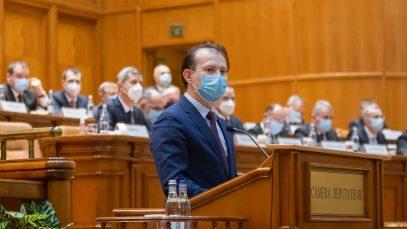 Guvernul Cîțu, demis cu cele mai multe voturi din istoria moțiunilor