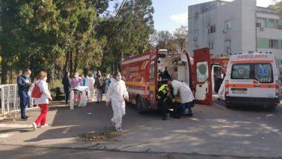 Incendiu la Spitalul de Boli Infecțioase din Constanța. Surse: 9 morți, 50 de persoane evacuate