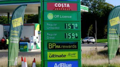 Prețul benzinei a atins un nou record în Marea Britanie